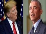 Obama Vs. Trump Over The Press
