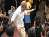 Prince Harry Grooves To Reggae In Jamaica