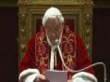 Pope Benedict XVI Set To Leave The Vatican
