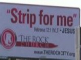 Pastor's 'Strip For Me' Billboard Gains National Attention