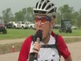 President Bush Joins Wounded Warriors On Bike Ride