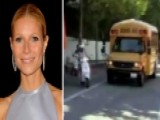 Paltrow Plows Ahead Of Bus