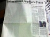 Pakistan Omits Bin Laden Article From Newspaper
