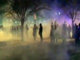 Protesters, Police Clash After Deadly New Mexico Shooting