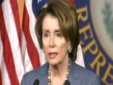 Pelosi: GOP 'disrespectful' Of Obama's Administration