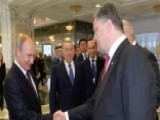 Putin Meets Poroshenko For Bilateral Talks Over Ukraine