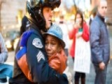 Photo Of Boy Hugging Police Officer Goes Viral