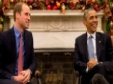 Prince William Meets With President Obama