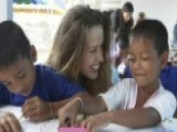 Petra Nemcova Talks Happy Hearts Fund