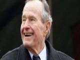 President George. H W. Bush Taken To The Hospital