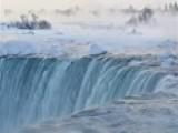 Parts Of Niagara Falls Freeze Amid Arctic Air Plunge