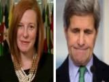 Psaki: We Will Keep Public, Congress Informed Of Iran Deal
