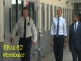 President Obama Went To Prison Today--