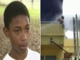 Pint-sized Hero Helps Save Man From Burning Apartment