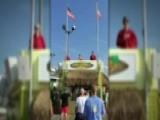 Patriotic Boardwalk Tribute Goes Viral