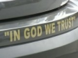 Police Cars' 'In God We Trust' Decals Draw Complaints