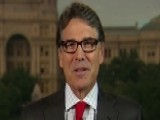 Perry: American Public 'has Had It' With Washington, D.C