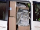 Police Bust Minivan Filled With Over 300 Pounds Of Pot