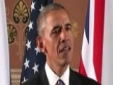 President Obama Defends US Interest In UK's Decision On EU