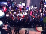 Protests Delay Trump Speech To GOP Convention In California