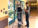 Paralyzed Man Takes First Steps After Accident