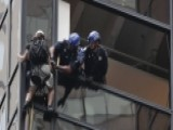 Police Grab Climber From Side Of Trump Tower