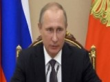 Putin Visits Crimea Amid New Tensions