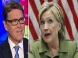 Perry: Clinton Email Scandal Is Near Criminal