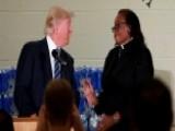 Pastor Interrupts Trump, Asks Him Not To Give Stump Speech