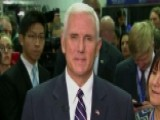 Pence: The Debate Is A Choice Between Two Visions, Futures