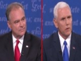Pence: Tim Kaine Is Fitting Running Mate For Hillary Clinton