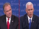 Pence, Kaine Clash Over Clinton's Private Email Server