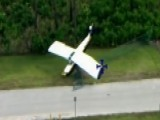 Plane Crash Interrupts Police Training Exercise