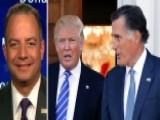 Priebus: Trump Understands Supporters' Criticism Of Romney