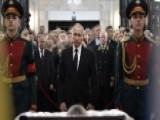 Putin Attends Memorial For Murdered Turkish Ambassador