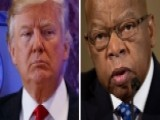 President-elect Trump Continues Twitter Feud With Rep. Lewis
