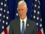 Pence: Transition Was On Schedule And Under Budget