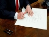President Trump Signs Executive Order On ObamaCare