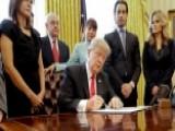 President Trump Signs Exec. Order To Cut Regulations