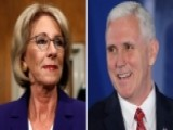 Pence May Need To Cast Tie-breaking Vote For Betsy DeVos