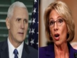 Pence Plans To Cast Tiebreaking Vote On DeVos Confirmation