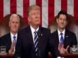 President Trump Calls For New Program Of National Rebuilding