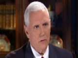 Pence: Open To Talking About Ways We Can Improve Health Bill