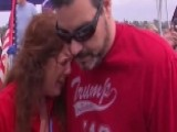 Pro-Trump March Organizer Pepper Sprayed By Protester