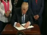 President Trump Signs VA Accountability Executive Order