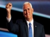 Pence Takes The Lead To Push White House Agenda Forward