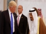 President Trump Meets With Saudi King Salman