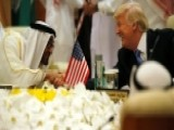 President Trump Makes Landmark Visit To Saudi Arabia