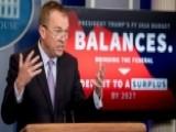 President's Budget Proposal Faces Bipartisan Pushback