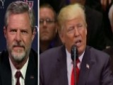 President Trump Honors Veterans At Faith-based Event
